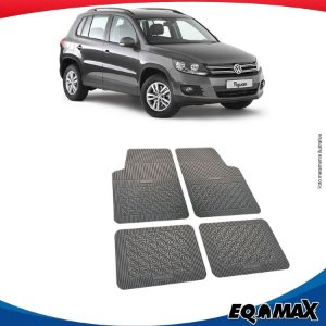 Tapete Borracha Eqmax Volkswagen Tiguan