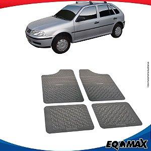 Tapete Borracha Eqmax Volkswagen Gol G3