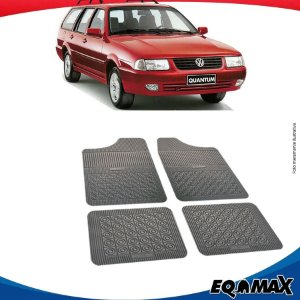 Tapete Borracha Eqmax Volkswagen Santana Quantum II