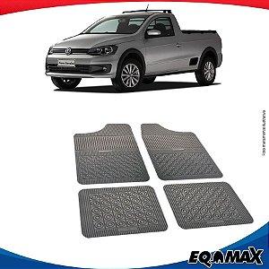 Tapete Borracha Eqmax Volkswagen Saveiro G6