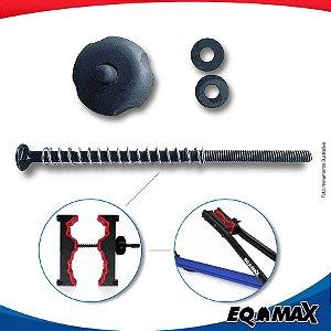 Kit Eqmax Borboleta com Parafuso para Garra de Transbike Aluminio Velox