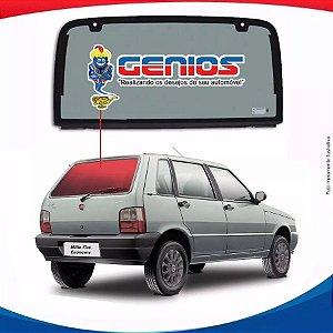 Vigia Liso Fiat Uno 85/07 Vidro Traseiro Incolor