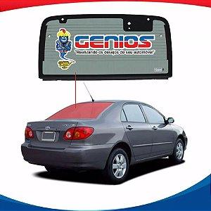 Vigia Térmico Toyota Corolla 03/07 Vidro Traseiro