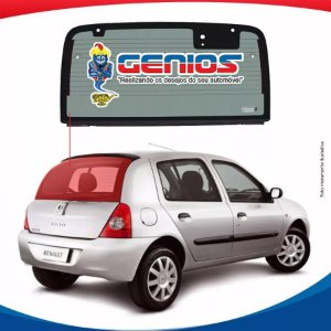 Vigia Termico Renault Clio Hatch 00/09 Vidro Traseiro