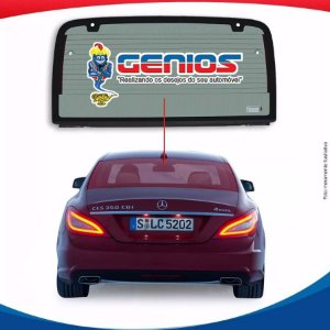 Vigia Térmico Mercedes Cls 350 11/16 Vidro Traseiro