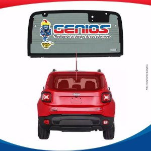 Vigia Térmico Jeep Renegade 15/... Vidro Traseiro