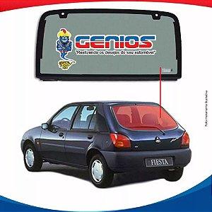 Vigia Liso Ford Fiesta 96/06 Vidro Traseiro
