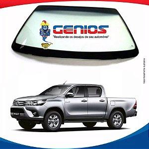 Parabrisa Toyota Hilux Pick-up 16/... Dianteiro Com Antena Pilkington