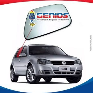 Vidro Porta Traseiro Esquerdo Volkswagen Golf 99/07 4 portas