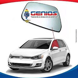 Vidro Porta Dianteiro Esquerdo Novo Vw Golf 13/...