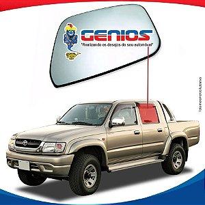 Vidro Porta Traseiro Esquerdo Toyota Hilux 93/96 Pick-up