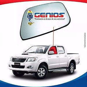 Vidro Porta Dianteiro Esquerdo Toyota Hilux 05/15 Pick-up