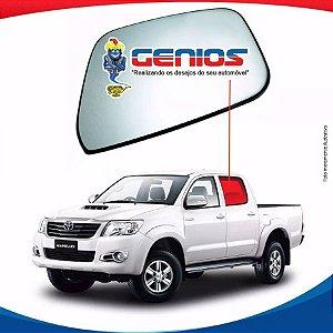 Vidro Porta Traseiro Esquerdo Toyota Hilux 05/15 Pick-up
