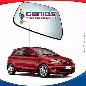 Vidro Porta Dianteiro Direito Toyota Etios Hatch 12/...