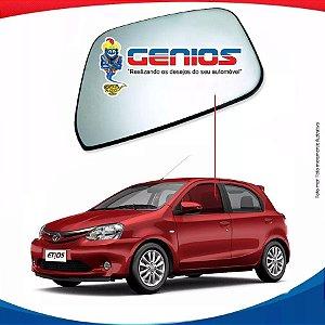 Vidro Porta Dianteiro Esquerdo Toyota Etios Hatch 12/...