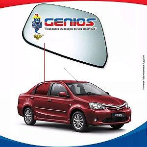 Vidro Porta Traseiro Direito Toyota Etios Sedan 12/16