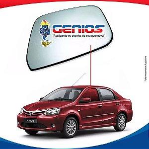 Vidro Porta Dianteiro Esquerdo Toyota Etios Sedan 12/...
