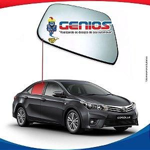 Vidro Porta Traseiro Direito Toyota Corolla 2014/...