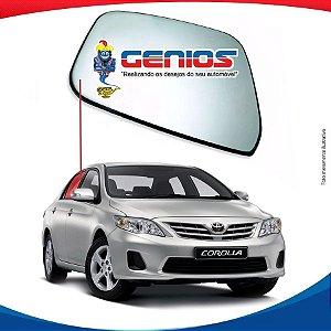 Vidro Porta Traseiro Direito Toyota Corolla 08/13