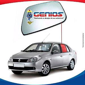 Vidro De Porta Traseiro Esquerdo Renault Symbol 09/16