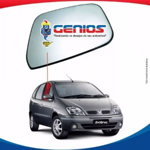 Vidro Porta Dianteiro Direito Renault Scenic 97/07