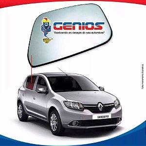 Vidro Porta Traseiro Direito Renault Sandero 13/...