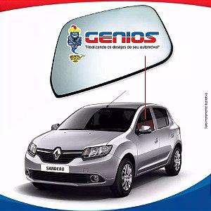 Vidro Porta Dianteiro Esquerdo Renault Sandero 13/...