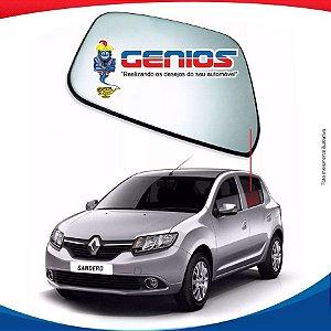 Vidro Porta Traseiro Esquerdo Renault Sandero 13/...