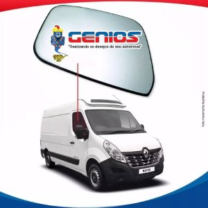 Vidro Porta Lado Direito Renault Master 13/...