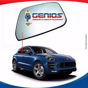 Vidro Porta Traseiro Direito Porsche Macan 10/...