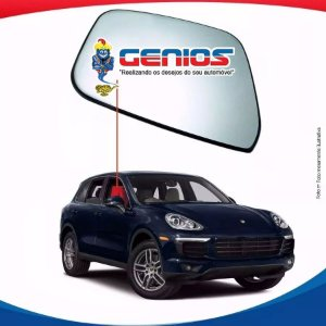 Vidro Porta Dianteiro Direito Porsche Cayenne 11/...
