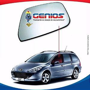 Vidro Porta Dianteiro Esquerdo Peugeot 307 Sw 01/12