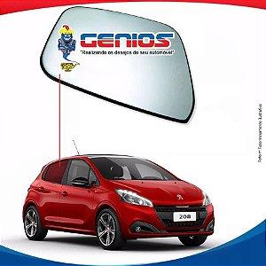 Vidro Porta Traseiro Direito Peugeot 208 14/17