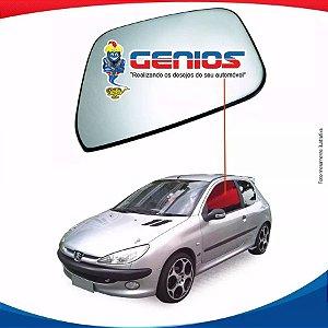 Vidro Porta Esquerdo Peugeot 206 98/08 2 Portas