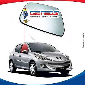 Vidro Porta Dianteira Direita Peugeot 207 08/... 4 Portas