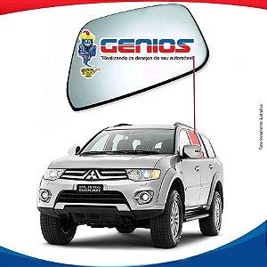 Vidro Porta Traseiro Esquerdo Mitsubishi Pajero Dakar 09/...