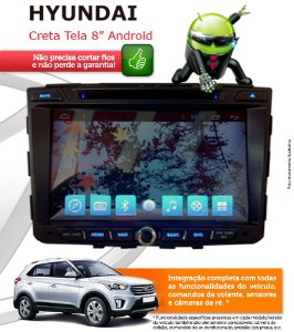 Central Multimidia Hyundai Creta Original Android