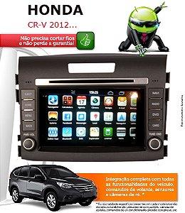 Central Multimidia Honda Crv Original Android