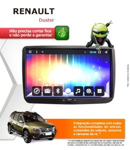 Central Multimidia Renault Duster Original Android 6.0