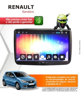Central Multimidia Renault Sandero Original Android 6.0