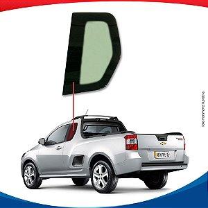 Janela Fixa Lado Esquerdo Chevrolet Montana 10/...