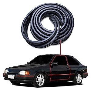 Borracha Tri-bulbo Porta  Esquerda Ford Escort 83/92