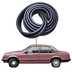 Borracha Tubular Porta Dianteira Esquerda Chevrolet Monza