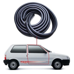 Borracha Tubular Porta Direita Fiat Uno 2 Portas 84/14
