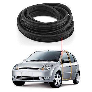 Borracha Porta Dianteira Esquerda Ford Fiesta 02/...
