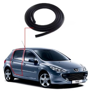 Borracha Porta Traseira Direita Peugeot 307