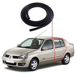 Borracha Porta Traseira Esquerda Renault Clio Sedan
