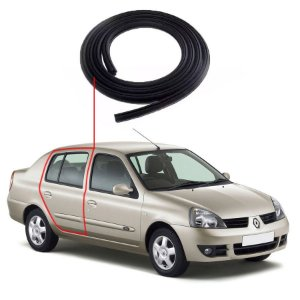 Borracha Porta Traseira Direita Renault Clio Sedan