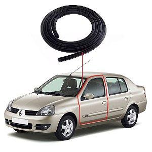 Borracha Porta Dianteira Esquerda Renault Clio Sedan