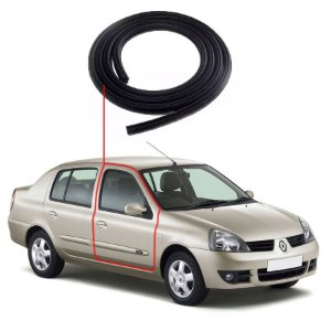 Borracha Porta Dianteira Direita Renault Clio Sedan